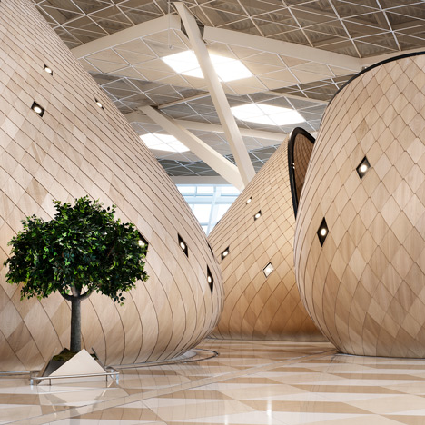 Autoban designs Heydar Aliyev International Airport terminal in Baku