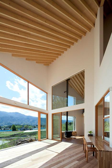 House to view the mountain by Kawashima Mayumi Architects