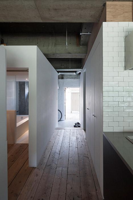 House with Loft by Hiroyuki Tanaka