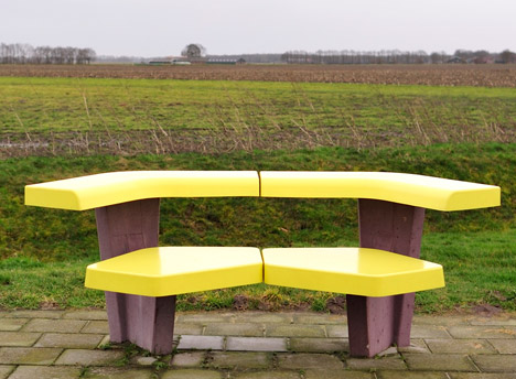 Ineke Hans motorway furniture