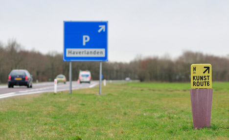 Ineke Hans motorway furniture
