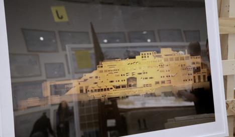 Japan pavilion at the Venice Architecture Biennale 2014