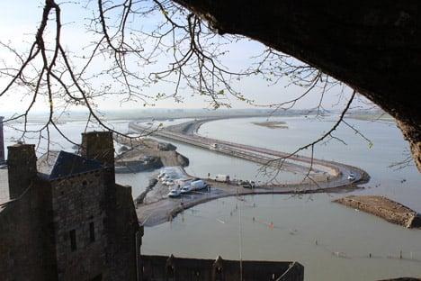 Jetty to Mont-Saint-Michel by Dietmar Feichtinger Architectes