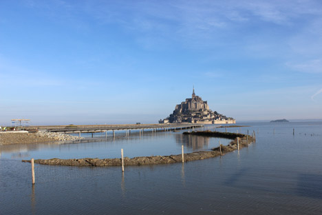 Jetty to Mont-Saint-Michel by Dietmar Feichtinger Architectes