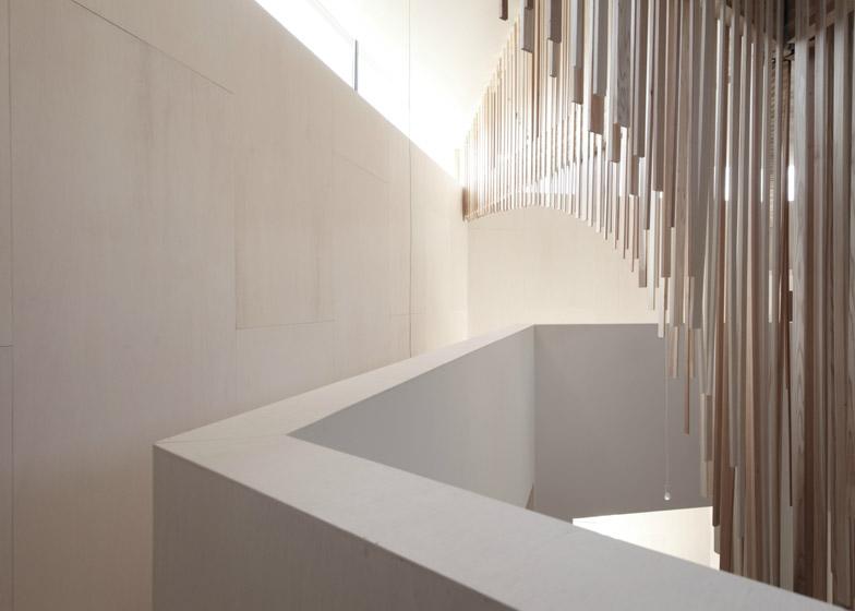 minimalista, blanco, madera, diseño, japonés, contemporáneo, dekoloop