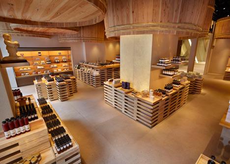 Kayanoya soy sauce warehouse by Kengo Kuma
