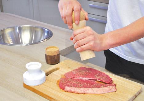 Kitchen Totems by Oliver Richardson