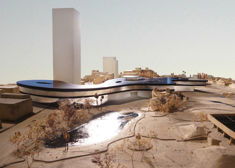 LACMA proposal by Peter Zumthor