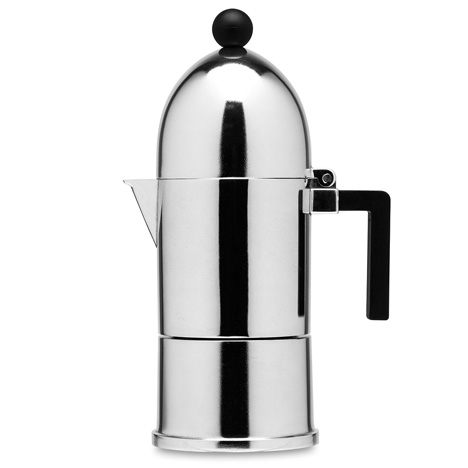 La Cupola espresso maker by Aldo Rossi for Alessi