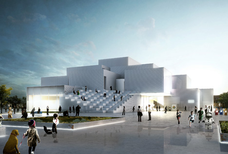 Lego visitor centre by BIG