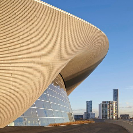 London Aquatics Centre 2012 by Zaha Hadid – photograph by Hufton + Crow