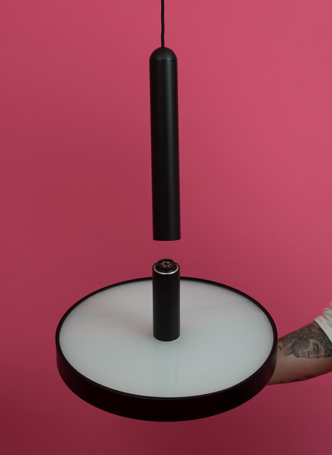 Magnum lamp by Patrycja Domanska and Felix Gieselmann