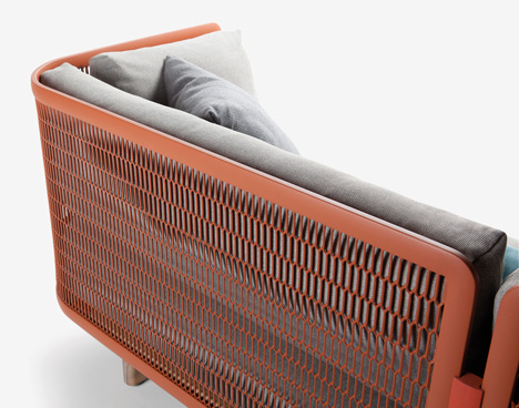 Mesh collection by Patricia Urquiola for Kettal_dezeen_4