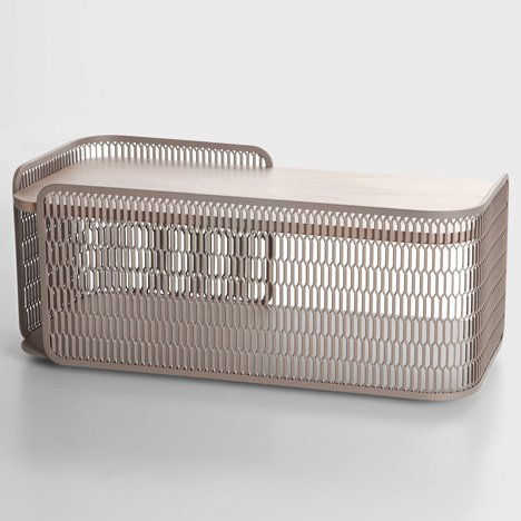 Mesh collection by Patricia Urquiola for Kettal_dezeen_5