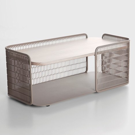 Mesh collection by Patricia Urquiola for Kettal_dezeen_6