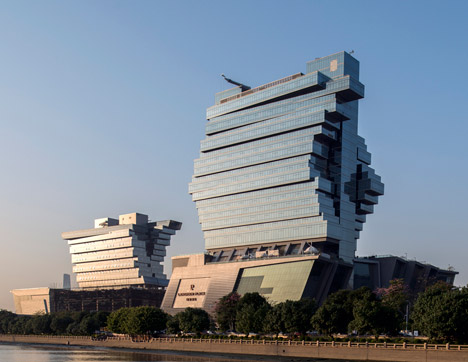 Nanfung Commercial Hospitality and Exhibition Complex in Guangzhou by Aedas