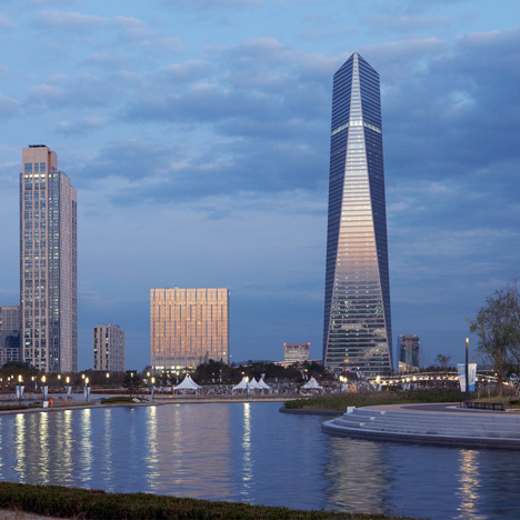 South Korea's tallest skyscraper opens – three years after completion