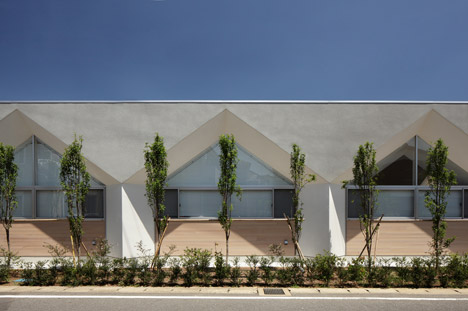 Nursery in Kashiwa City by Soichi Yamasaki