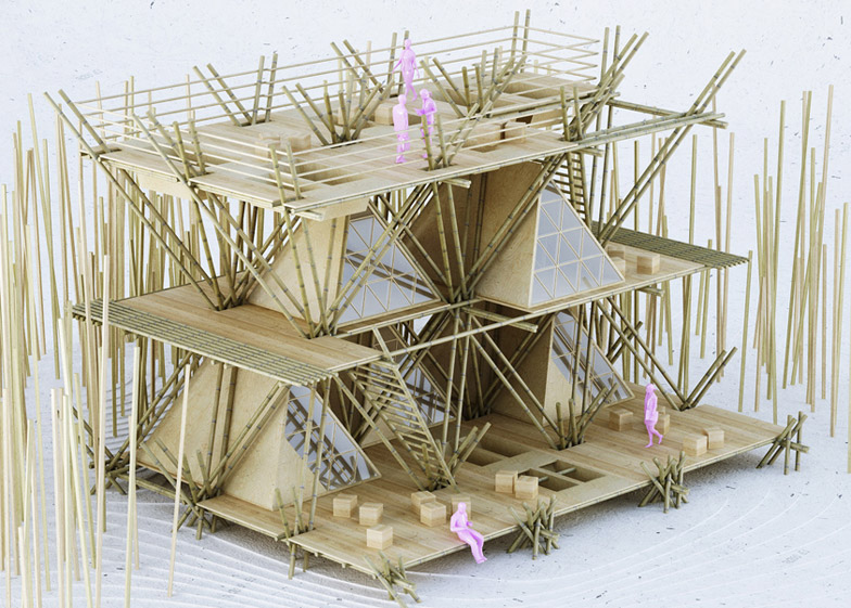 """Leading architects are """"turning the focus back on bamboo"""""""