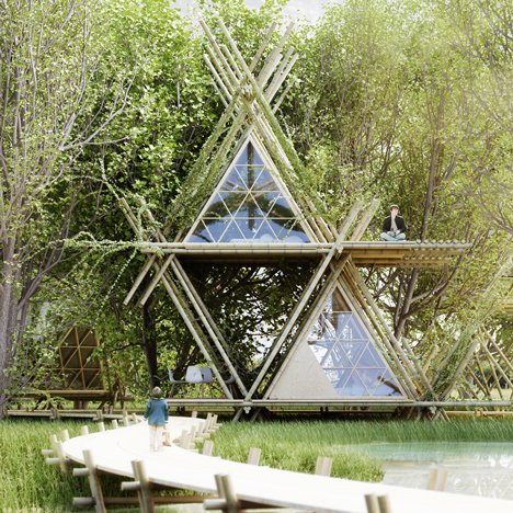 "Leading architects are ""turning the focus back on bamboo"""