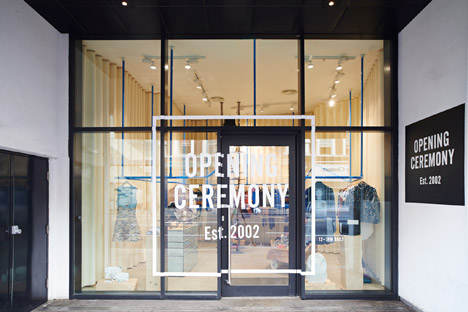 Opening Ceremony Shoreditch boutique by Max Lamb