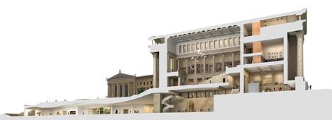 Philadelphia art museum by Gehry Partners