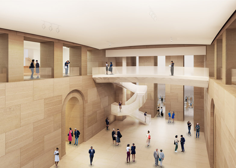 Philadelphia art museum by Gehry Partners