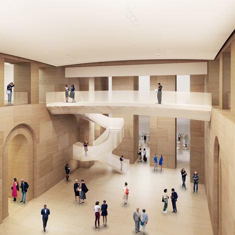 "Frank Gehry reveals ""under the radar"" refurb for Philadelphia Museum of Art"