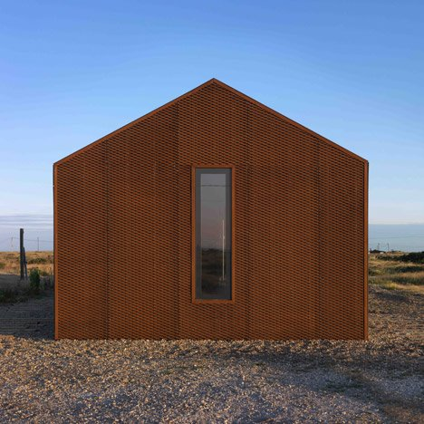 Pobble House Dungeness by Guy Hollaway