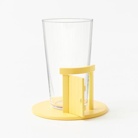 Pooh-Glassware by Nendo