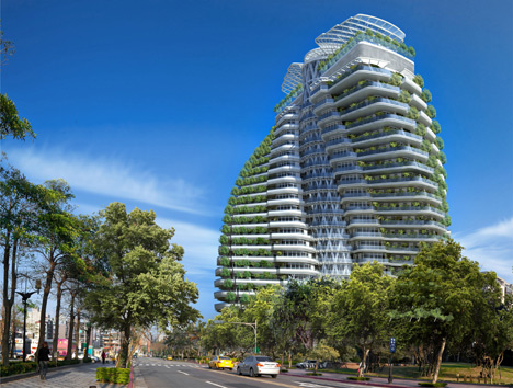 Tao Zhu Yin Yuan, Taiwan, by Vincent Callebaut Architects