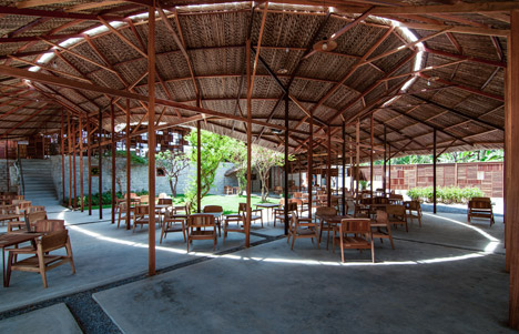 Salvaged Ring coffee house by a21studio