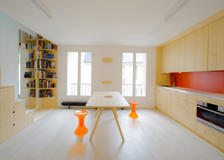 Schema apartment in Paris