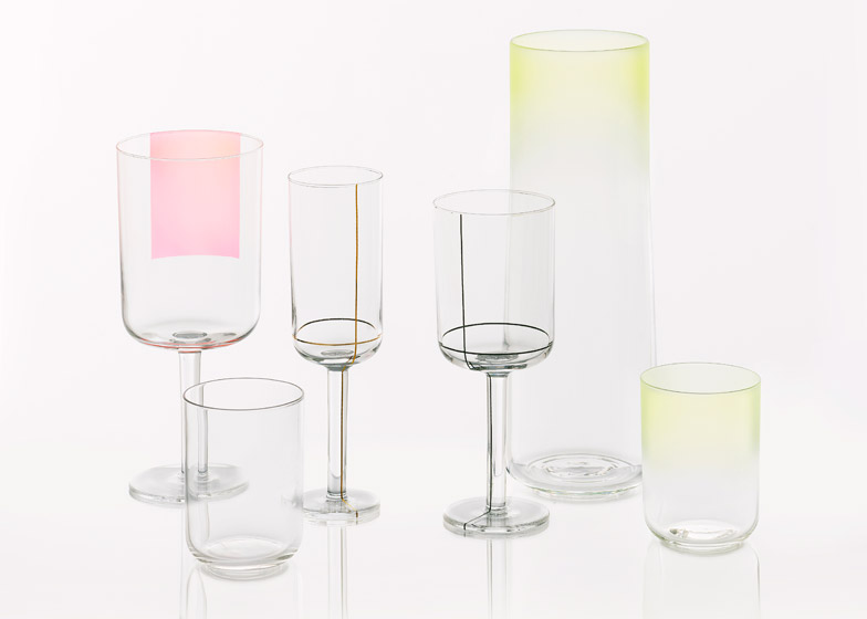 Colour Glass collection for Hay
