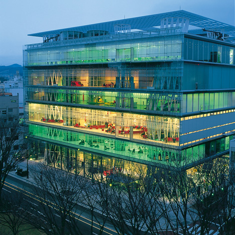 Sendai Mediatheque building by Toyo Ito