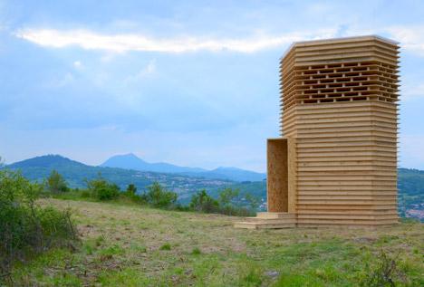 Signal Ethique pavilion by Arnaud Huart