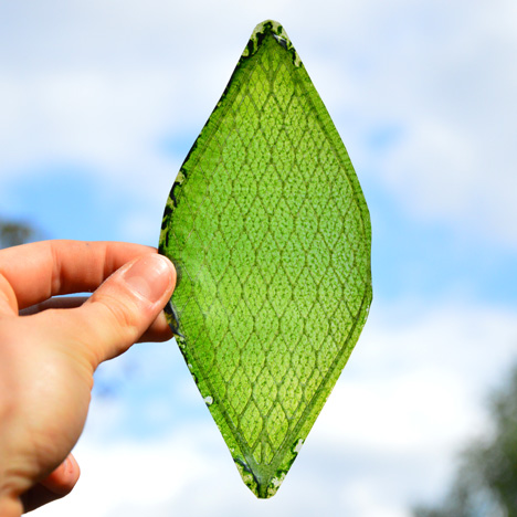 "The ""first man-made biological leaf"" could enable humans to colonise"