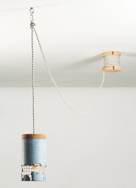 Slash Lamp by Dragos Motica