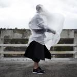 Phoebe Kowalska layers neoprene and nylon to create protective clothing