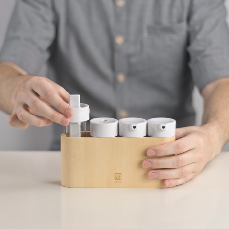 Taste Condiment Set brings uniformity to the dinner table