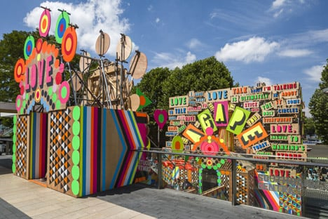 Temple of Agape by Morag Myerscough and Luke Morgan