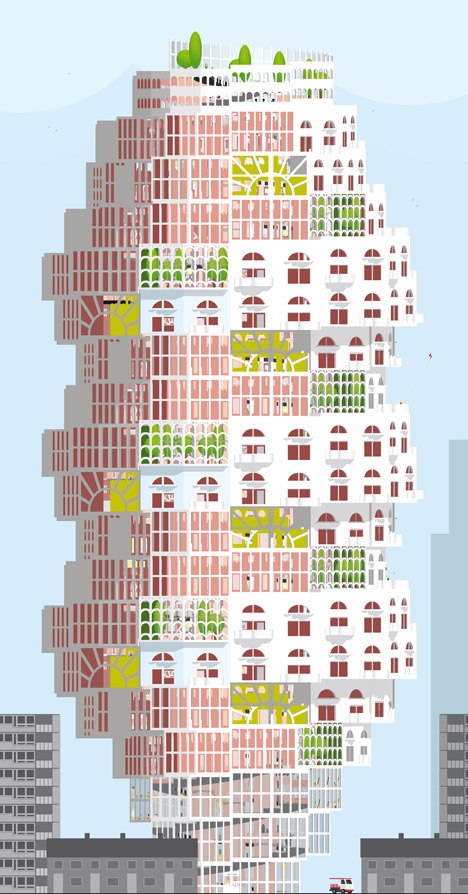 The Child and the Vertical City by Elly Ward