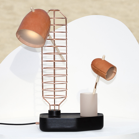 The Standard Table Lamp by Knauf and Brown