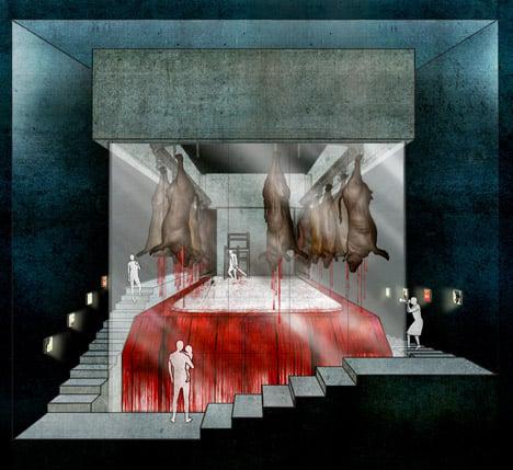 The Public Abattoir - an Atrocity Exhibition by Tseng Lau