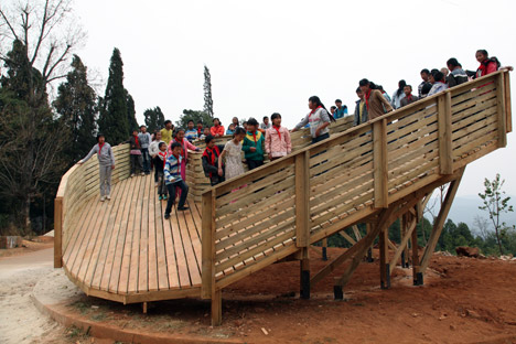 The Sweep viewing platform by John Lin