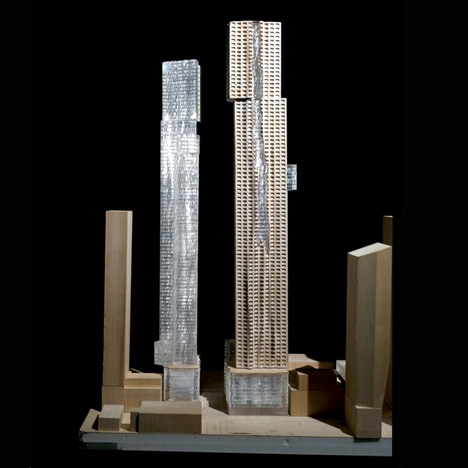 "Gehry scales back Canadian skyscraper scheme to be ""more Toronto"""