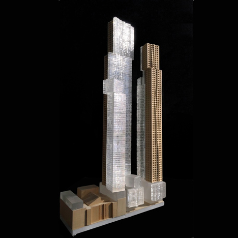 Toronto skyscraper complex by Frank Gehry