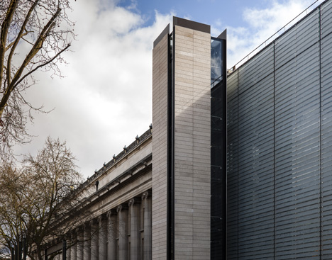 Rogers Stirk Harbour + Partners completes new conservation and gallery wing at British Museum