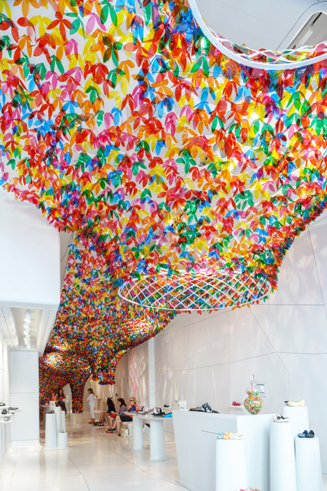 We Are Flowers installation by Melissa and SOFTlab