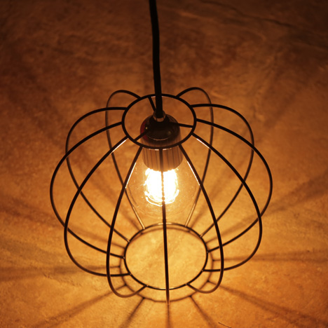 Wire Light by Robert Manners